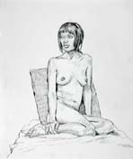 Life drawing by Jeff Whipple