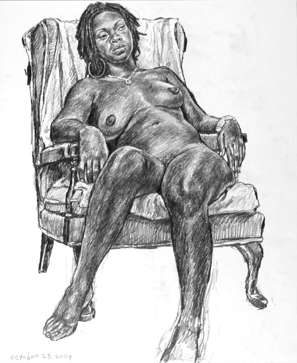 Jeff Whipple life drawing
